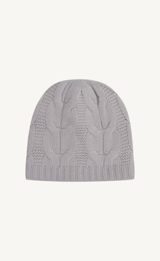 Mütze Zopfstrick