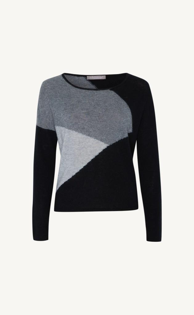 Pullover merhfarbig gemustert